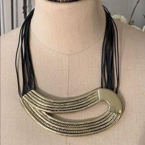 Chico's minimalist contemporary statement necklace